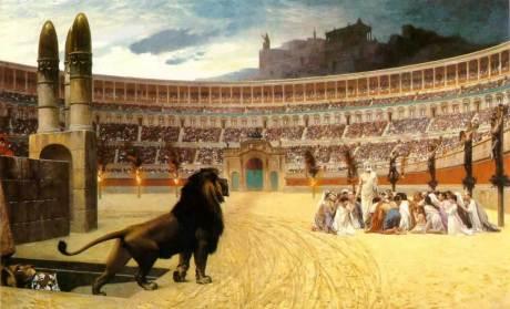 Doa terakhir Martir-martir Kristen