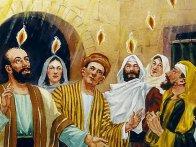 Hari Pentakosta murid-murid Yeshua dipenuhi kuasa Roh Kudus