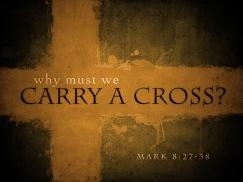 Mengapa kita harus memikul salib Markus 8 ayat 27-38