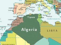 Peta Algeria