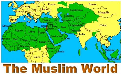 Peta Dunia Muslim | Penjala Baja's Blog