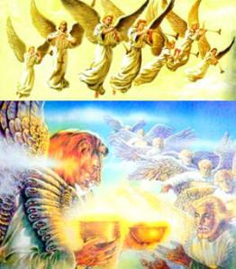 7 Malaikat dengan 7 sangkakalanya