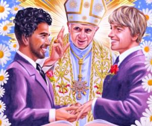 Pendeta memberkati pernikahan sex-sejenis