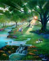 Sungai di Sorga; illustrasi