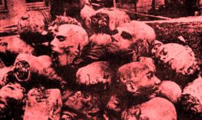 Kepala-kepala manusia yang dipenggal