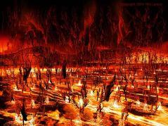 Danau api di Neraka