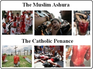 Menghukum diri sendiri (Flaggelation) dalam Katolik dan Islam