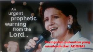 Peringatan nubuatan yang mendesak dari Adonai Mimpi Suzatte 2014