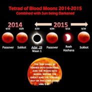 Bulan menjadi bewarna merah darah empat kali tahun 2014 2015 nubuatan nabi Joel