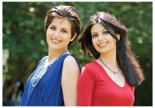 Marziyeh Amirizadeh dan Maryam Rostampour Iranian Kristen