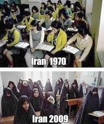 Perubahan status sosial wanita Iran di bawah Negara Islam Republik Iran