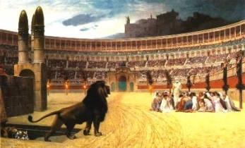 para-martir-kristen-di-colosseum-roma