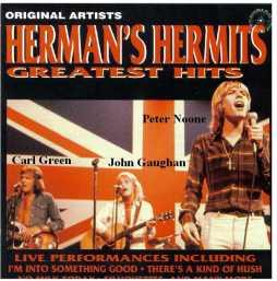 John Gaughan bersama band Herman's Hermits