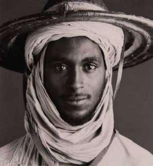 Pemuda suku Fulani - Afrika bercampur Arab