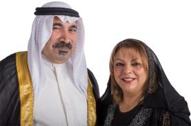 Adel dan Layla Masoud Kuwait Kristen