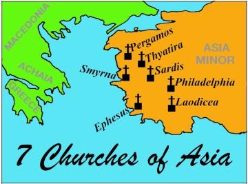 7 Gereja Mula-mula di Asia Minor, Turki
